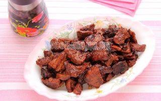 Тушеная говядина в красном вине – классический рецепт приготовления в домашних условиях