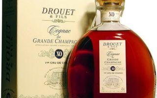 Коньяк Гранд Брей (Grand Breuil): история и описание марки
