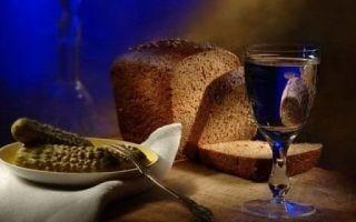 Бородинская настойка – классический рецепт на хлебе