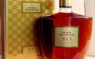 Коньяк Анри Мунье (Henri Mounier): описание и виды марки