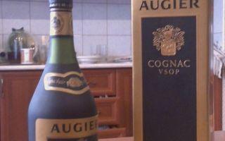 Коньяк ожье (augier): описание, история и виды марки