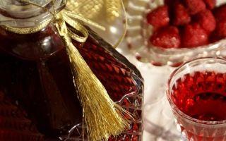 Джин на малине – рецепт настойки на водке, спирте и самогоне