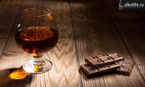 Шоколадный коньяк в домашних условиях – рецепт приготовления
