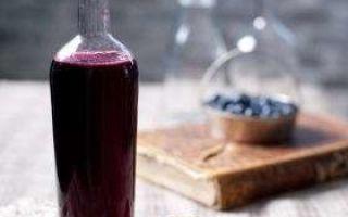 Домашнее вино из голубики по простому рецепту и сроки хранения напитка
