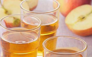 Домашняя настойка из яблок на водке, самогоне или спирте