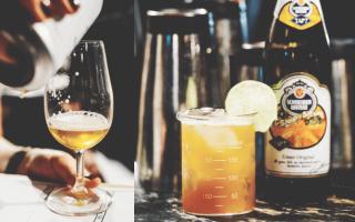 Напитки на основе пива – 5 рецептов популярных коктейлей