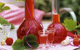 Настойки на клубнике в домашних условиях – 3 лучших рецепта
