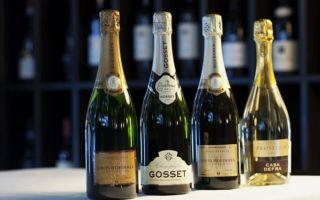 Виды и сорта шампанского