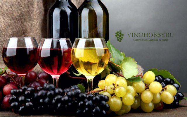 Вино на мезге винограда