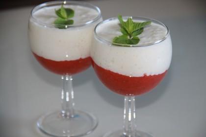 Клубника в вине (красном или белом) – рецепт десерта с фото