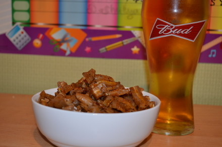 Свиные уши к пиву – рецепт с фото и приготовление закуски