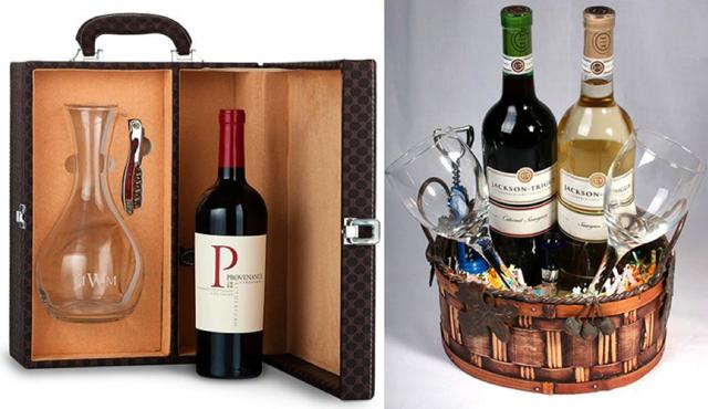 Как выбрать винный набор для подарка