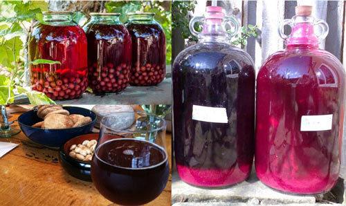 Вино из забродившего варенья (компота) в домашних условиях