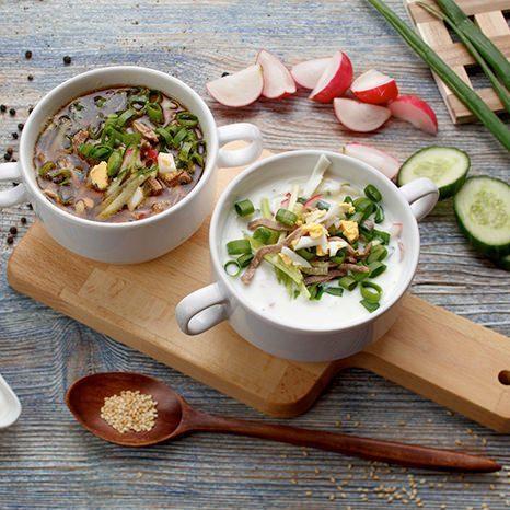 Окрошка на пиве – рецепт холодного пивного супа