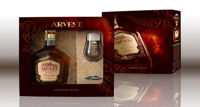 Коньяк Арвест (arvest): описание, история и виды марки