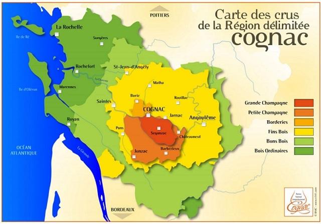 Сорта и виды коньяка во Франции и на постсоветском пространстве