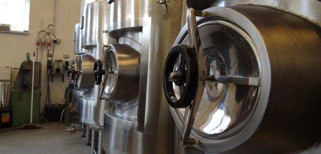Свободный объем емкости при варке, брожении и карбонизации пива