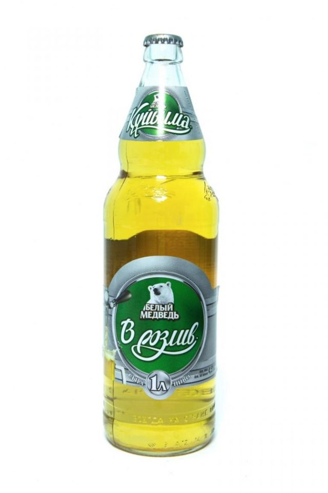 Пиво Белая скала: описание, история и описание марки