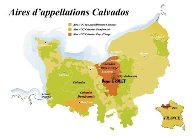 Сравнение французских бренди: коньяка, арманьяка и кальвадоса