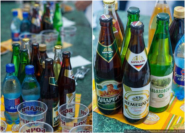 Пиво Бочкари: описание, виды, история марки