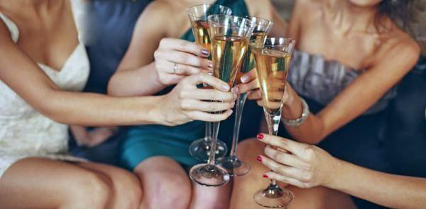 Калорийность шампанского разных сортов