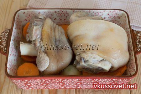 Свиная рулька в пиве по-баварски – рецепт с фото для духовки