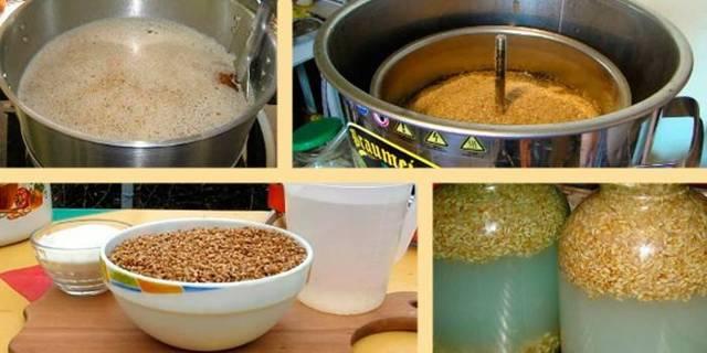 Старинный рецепт браги из пшеницы без дрожжей