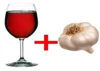 Вино с чесноком: рецепт приготовления и применение настойки