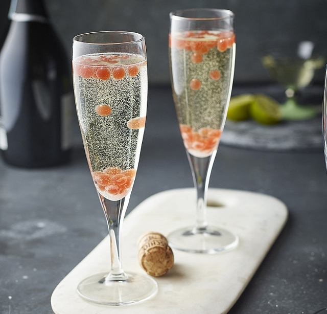 Шампанское с блестками (перламутровое): понятие и марки