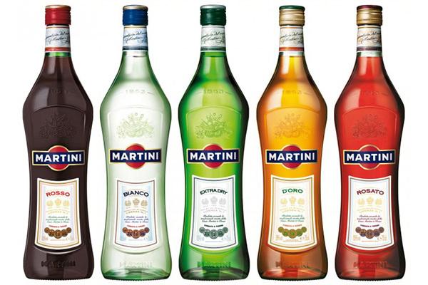 Шампанское Мартини (martini): описание, история, виды марки