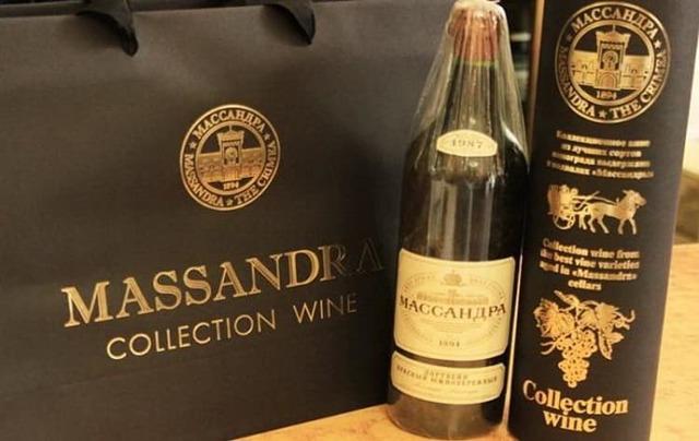Шампанское Массандра: описание, история и виды марки