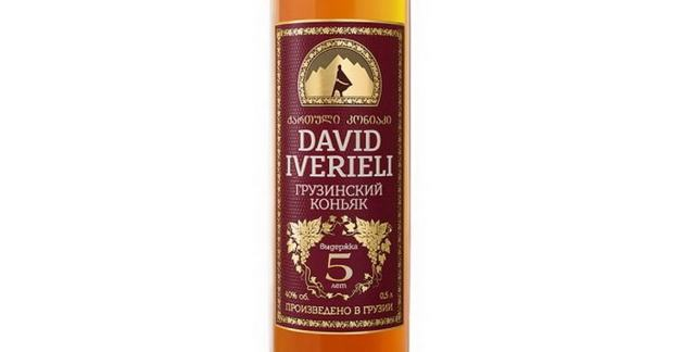 Коньяк Давид Ивериели: описание, история и виды марки
