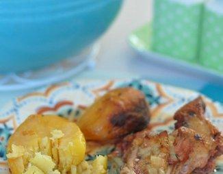 Утка в пиве с яблоками в духовке – рецепт с фото