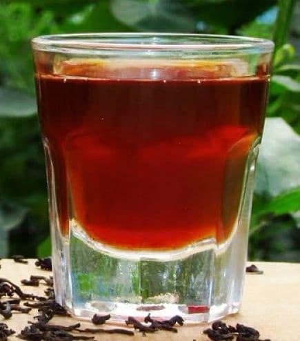 Чайная настойка на водке (самогоне) – 3 лучших рецепта