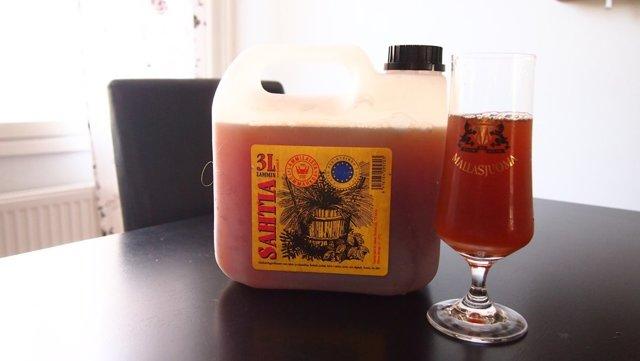 Сахти (sahti): описание стиля пива