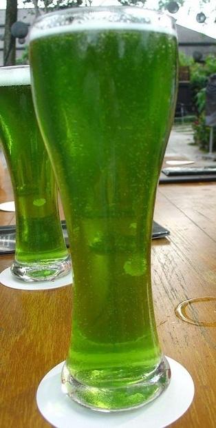 Зеленое бамбуковое пиво Тануки