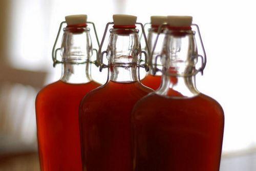 Настойка на гранате на водке, спирте, самогоне » Рецепты вкусной пищи