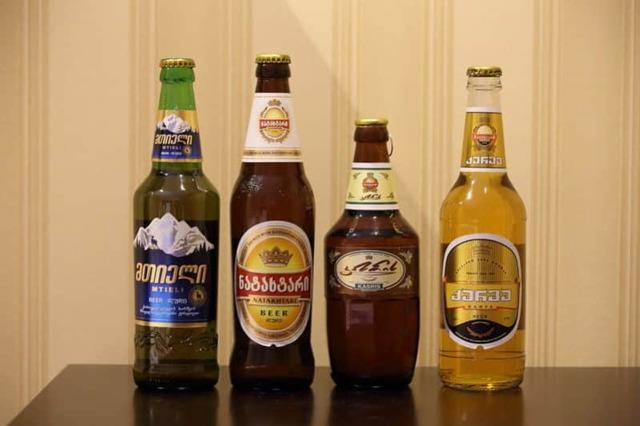 Пиво Натахтари (natakhtari): описание и виды марки