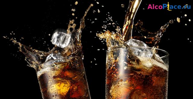 Коньяк с колой – пропорции и рецепт коктейля
