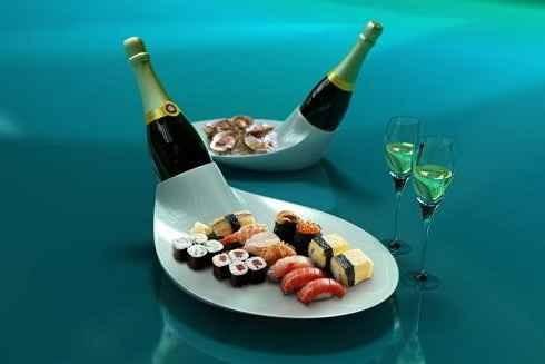 Закуска к шампанскому – правила подбора блюд