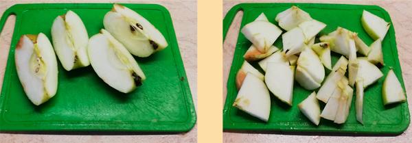 Домашняя настойка из яблок на водке (самогоне или спирту)