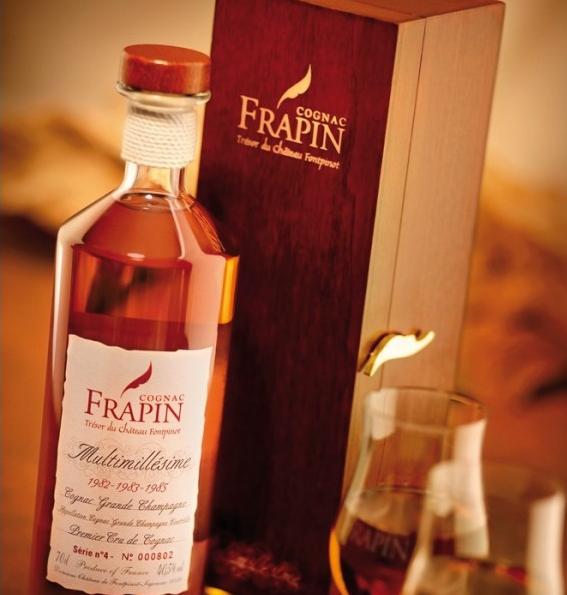Коньяк Фрапен (frapin): описание, история и виды марки