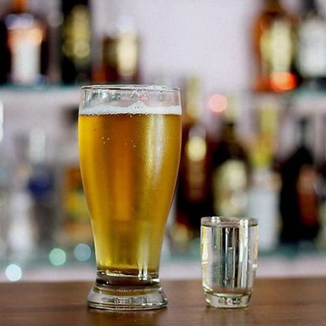 Пиво после водки – результат и последствия запивания