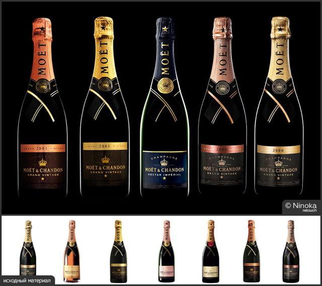 Шампанское Моэт Шандон (moët & chandon): описание марки