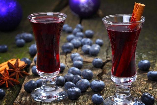 Настойка из голубики в домашних условиях – рецепт на водке