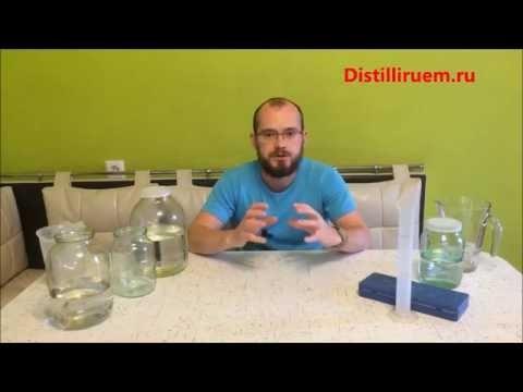Правильная вода для фруктового самогона