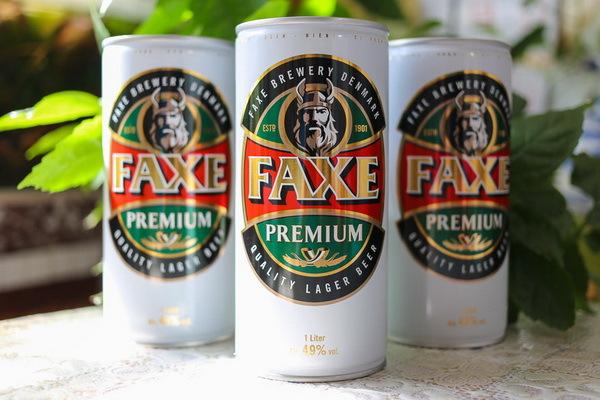 Пиво Факсе (faxe): описание, история, вид марки