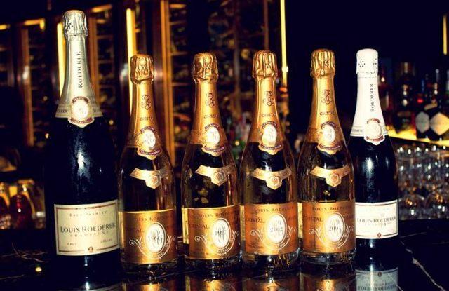 Шампанское Cristal (Кристалл): описание марки